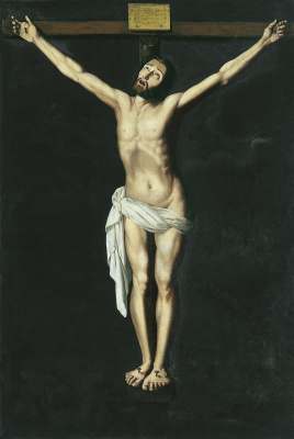 Francisco de Zurbaran. Christ on the cross