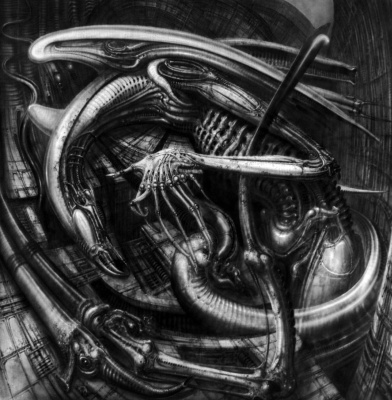 Hans Rudolph Giger. Alien - Monster