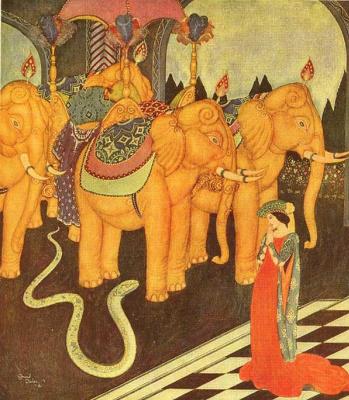 Эдмунд Дюлак. Принц-змея