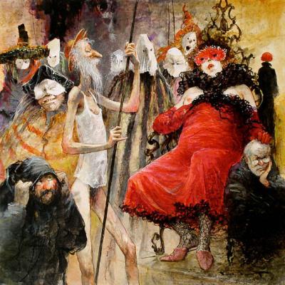 Marcel Pajot. Don Quixote. Masquerade