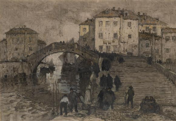 Константин Иванович Горбатов. Венеция. 1912