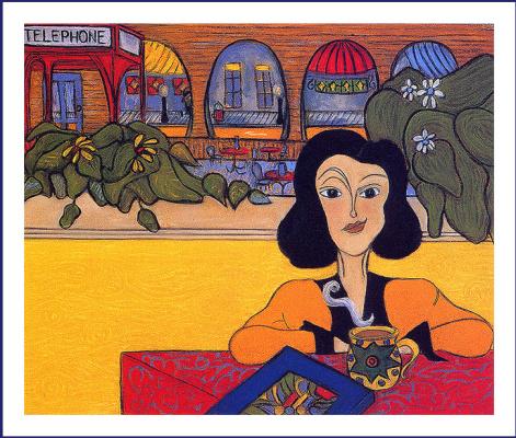Сьюзан Киевитт. Девушка в кафе