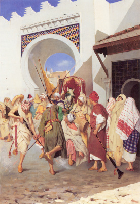 Евгений Томмаси. Марокканский свадебный танец