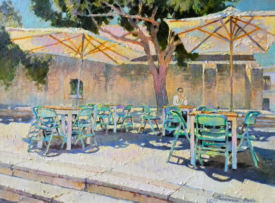 George Lapchinsky. Hot afternoon