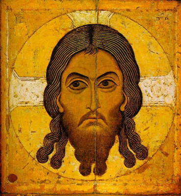Icon Painting. Christ
