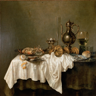 Виллем Клас Хеда. Завтрак с лобстером