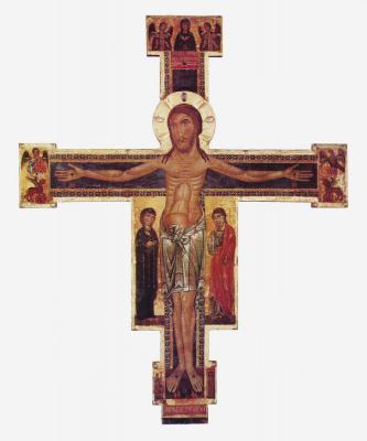 Berlingerro Berlingeri. The crucifixion