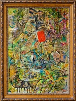 Александр Чулков. A.CH.ART_F2/47.  Circe - Цирцея.
