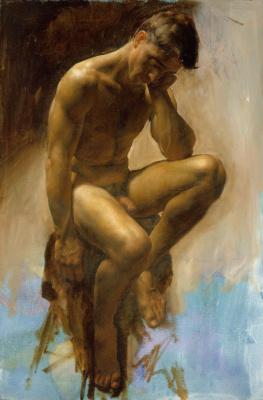 Иаков Коллинз. Мужская фигура
