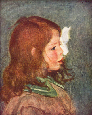 Pierre-Auguste Renoir. Portrait Of Coco