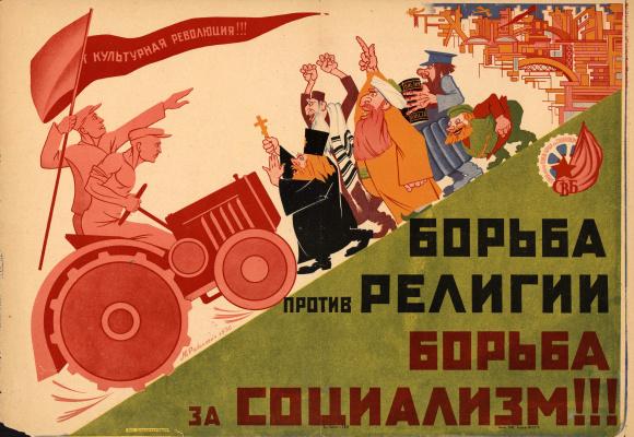 Mikhail Tsezarevich Rabinovich. The struggle against religion is struggle for socialism!!!