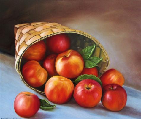 Natalia Viktorovna Tyuneva. Little apples