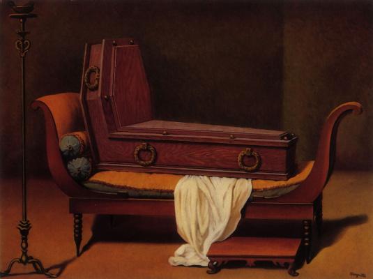 Рене Магритт. Перспектива Мадам Рекамье