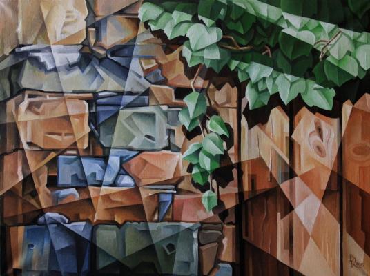 Vasily Krotkov. Ivy. Kubofuturizm