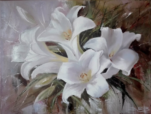 Ekaterina Vasilyeva. Lilies