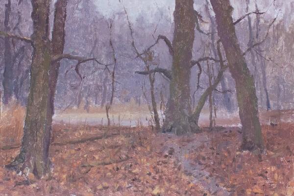 Igor Igorevich Krieger. Autumn trees