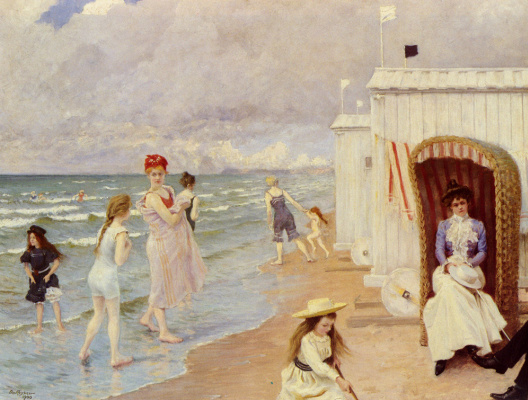 Пол Фишер. Пляж