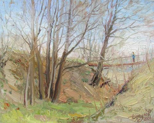Yuri Demyanov. Spring motive