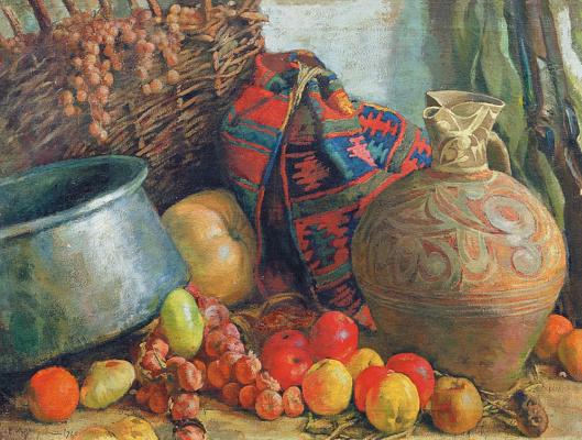 Evgeniy Evgenievich Lansere. Caucasian still life