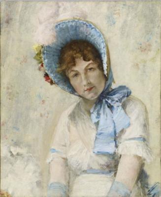 William Merritt Chase. Portrait Of Harriet Hubbard Ayers