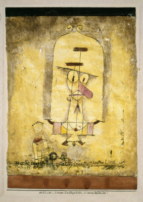Paul Klee. Monster, dance under my soft song!
