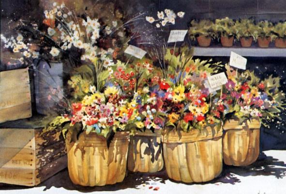 Кэй Барнс. Цветочный рынок