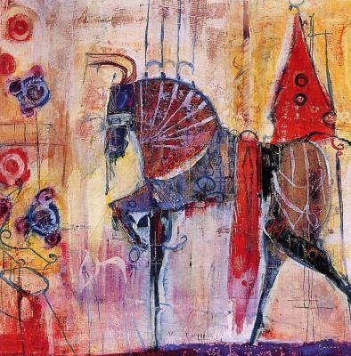 Доминик Беснер. Лошадь