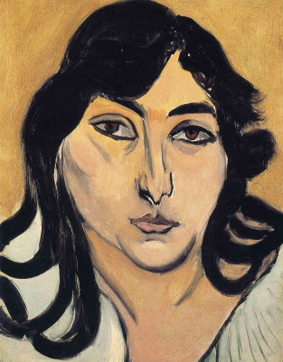 Henri Matisse. Laurette with long locks