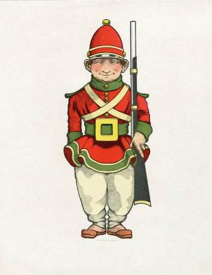 Maxfield Parrish. Toy Soldier