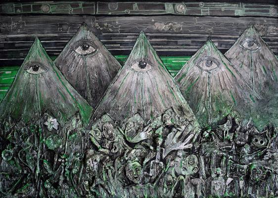 Galya Gubchenko. Pyramids