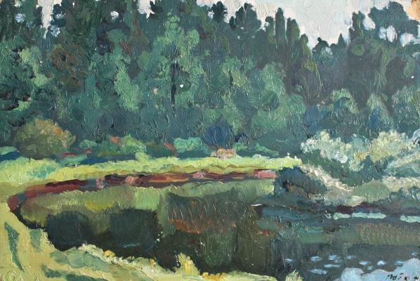 Victor Ashotovich Abrahamyan. Silent Creek