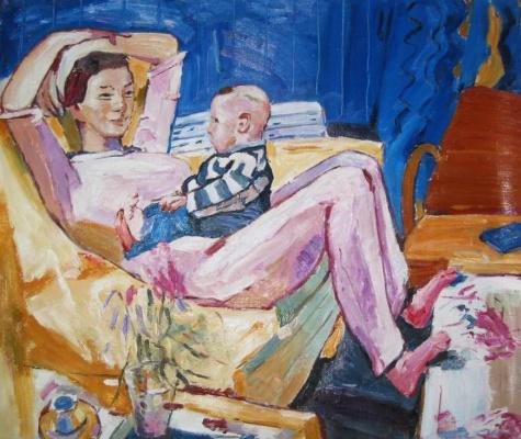 Йен Пин. Мать и сын