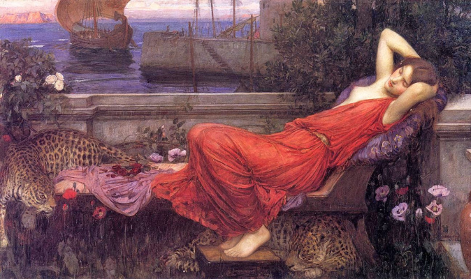 John William Waterhouse. Ariadna