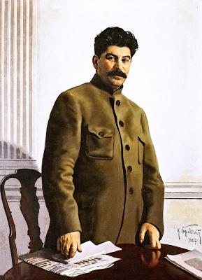 Isaac Brodsky. Portrait of Joseph Stalin