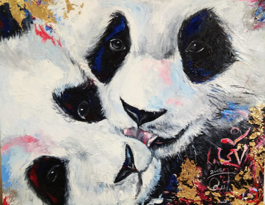 Love Semenkova. Lovers pandas