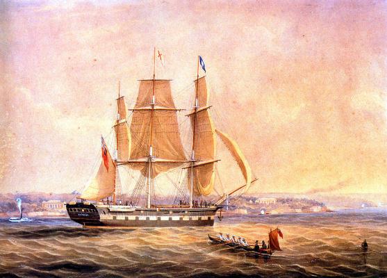 Фредерик Гарлинг. Корабль