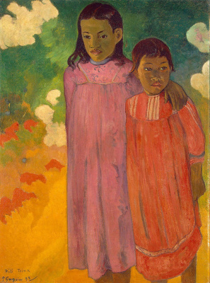 Paul Gauguin. Two sisters