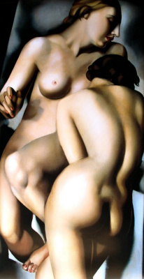Tamara Lempicka. Two naked girls