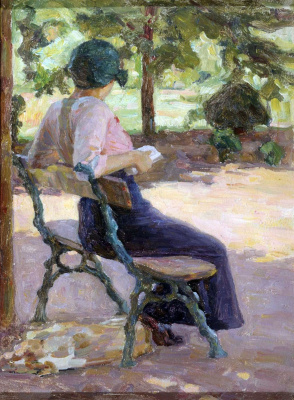 """Study for the painting """"Sunny Day"""""""