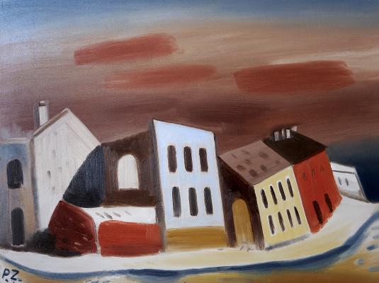 Peter Zverkhovsky. Forgotten city