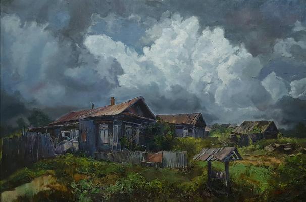Lana Medvecka. Clouds over the Tsarevshchina