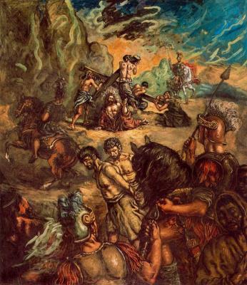 Giorgio de Chirico. The Crucifixion