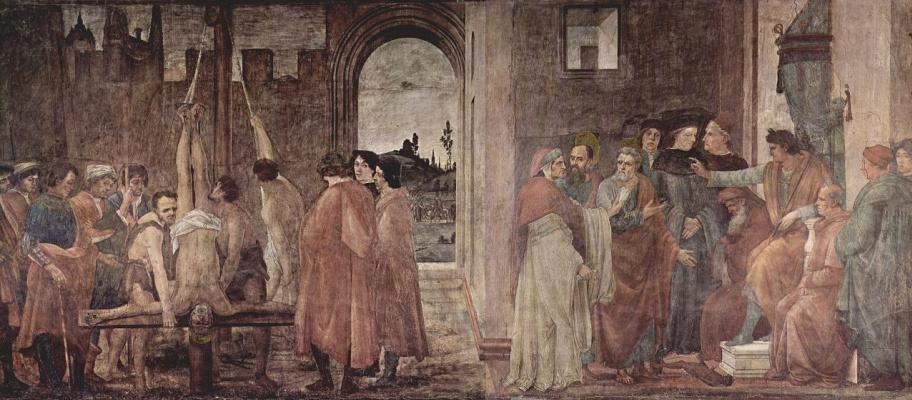 Filippino Lippi. The Martyrdom Of St. Peter