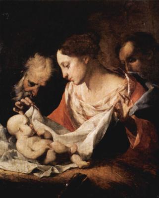 Джузеппе Антонио Петрини. Святое семейство