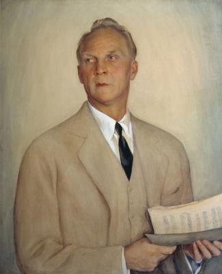 Савелий Абрамович Сорин. Портрет Ф. И. Шаляпина.. 1930-е
