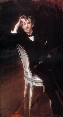 Giovanni Boldini. Portrait of James Abbott Whistler