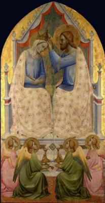 Аньоло Гадди. Коронование Девы Марии