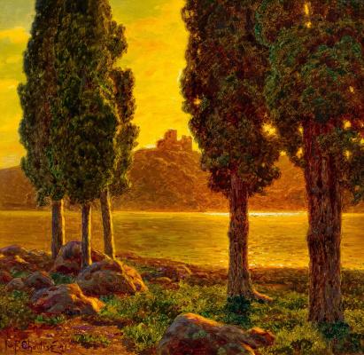 Ivan Fedorovich Schultze. Sunset