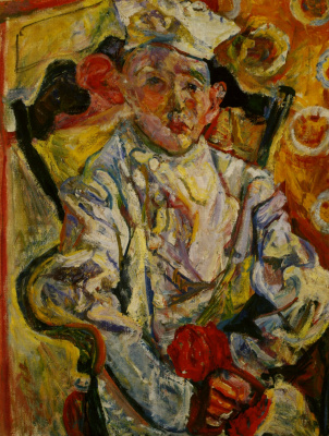 Chaim Soutine. Little pastry chef