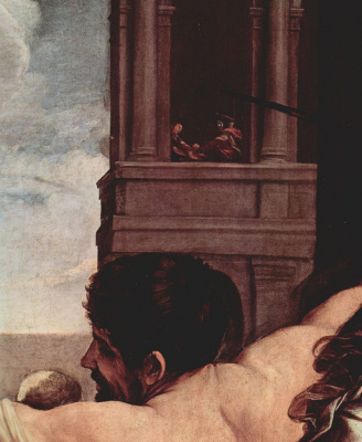 Guido Reni. Massacre of the innocents, detail
